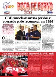 CBF cancela os avisos prévios e operação pode ... - CNM/CUT