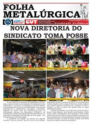 Folha Metalúrgica - Sindicato dos Metalúrgicos de Porto Alegre