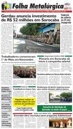 Gerdau anuncia investimento de R$ 52 milhões em ... - CNM/CUT