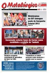 Trabalhadores na CIBI participam de plenária no ... - CNM/CUT