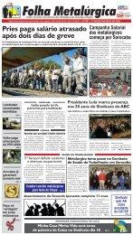 Pries paga salário atrasado após dois dias de greve - CNM/CUT