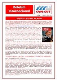CNM Internacional nº 18/2004 - CNM/CUT