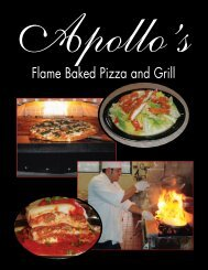 Flame Baked Pizza and Grill - Apollos