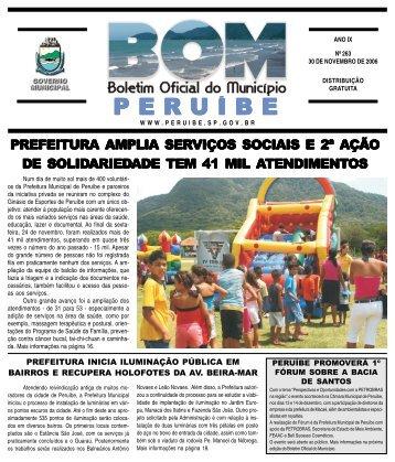263 - Prefeitura de Peruíbe