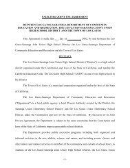 1 facilities joint use agreement between los gatossaratoga ...