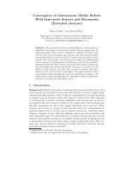 Convergence of Autonomous Mobile Robots With ... - ResearchGate