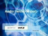 Audio i wideo w sieci - Gemius