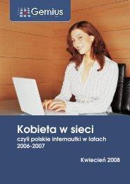 Kobieta w sieci - Gemius