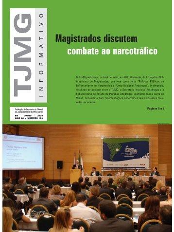 informativo julho 129 - saida.qxp - Tribunal de Justiça de Minas Gerais