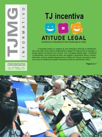 Atitude legal - Tribunal de Justiça de Minas Gerais