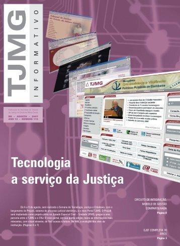 informativo 119.qxp - Tribunal de Justiça de Minas Gerais