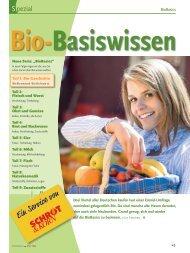 Bio-Basiswissen: Bio Geschichte (Schrot&Korn 3/2008)