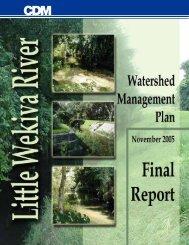 Little Wekiva River Watershed Management Plan - Seminole ...