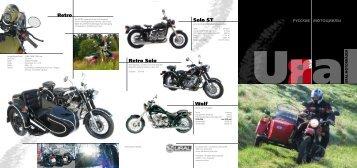 Retro Retro Solo Solo ST Wolf - Ural Motorcycles Europe