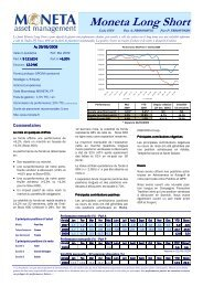 Lettre Mai 2009 - Moneta Asset Management