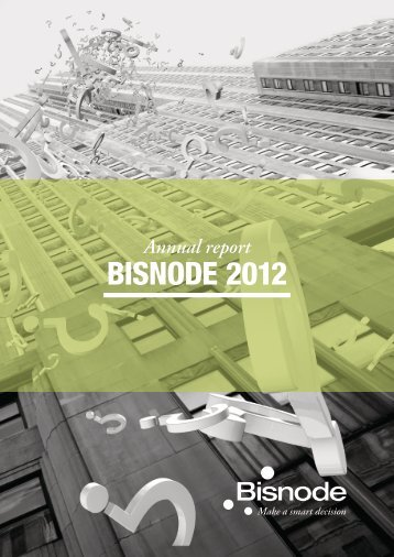 Annual report 2012 - Bisnode
