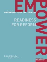READINESS FOR REFORM