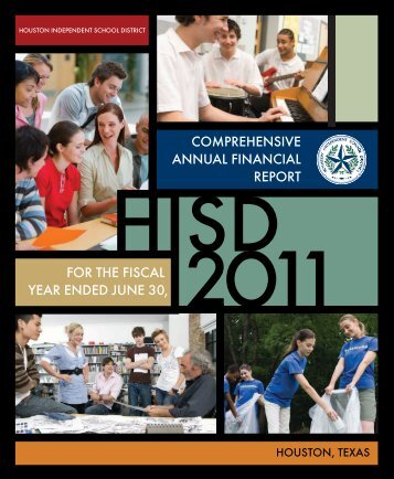CAFR 2010-2011 - Houston Independent School District
