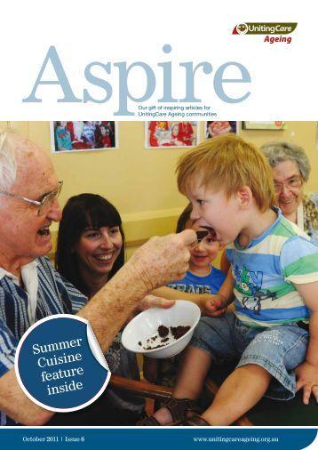 Summer Cuisine feature inside - UnitingCare Ageing