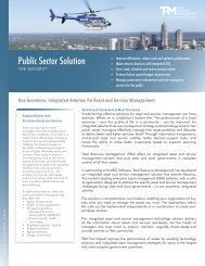 Public Sector Solution - Total Resource Management