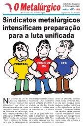 Sindicatos metalúrgicos intensificam preparação para a ... - CNM/CUT