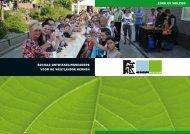 Sociale ontwikkelingskaders voor de Westlandse kernen