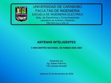 Tutorial de Antenas Inteligentes (pdf)