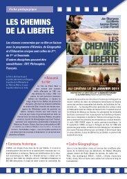LES CHEMINS DE LA LIBERTE.pdf - Cinéma l'Horloge Meximieux