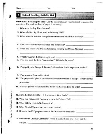 Name guided reading activity 21 1 sciox Choice Image