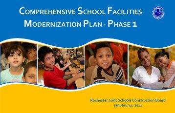 comprehensive school facilities modernization plan - Rochester City ...