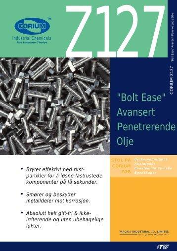 """""""Bolt Ease"""" Avansert Penetrerende Olje - abema"""