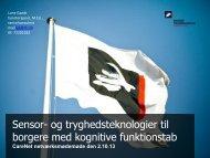 Lone Gaedt, Teknologisk Institut.pdf - CareNet