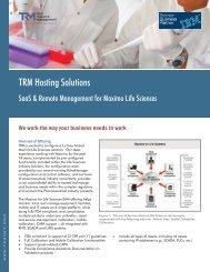 TRM Hosting Solutions - Total Resource Management