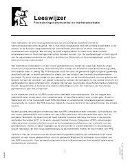 20120124 Bijlage 12 - OPB Begeleidende memo ...