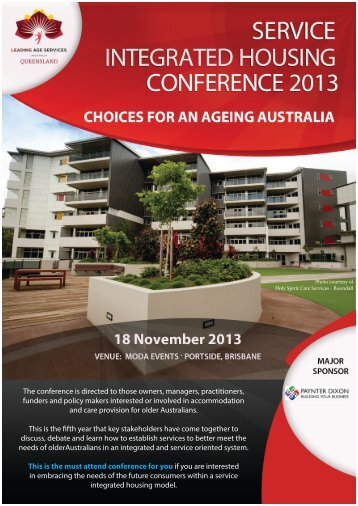 The conference is directed to those owners, managers, practitioners ...