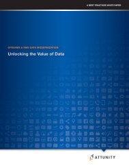 Unlocking the Value of Data - Blog - Attunity