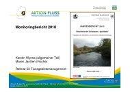 Monitoringbericht 2010 - Thüringer Landesanstalt für Umwelt und ...