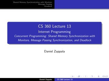 CS 360 Lecture 13 - Internet Research Lab