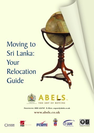 Moving to Sri Lanka: Your Relocation Guide - Abels Moving Services