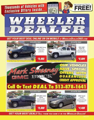 Wheeler Dealer 28-2015