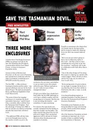PHIL WISE - Save the Tasmanian Devil
