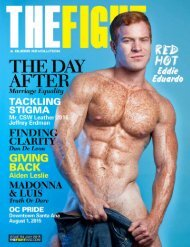 THE FIGHT SOCAL'S LGBT MONTHLY MAGAZINE JULY 2015