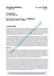 Gesetzesentwurf De-Mail-Gesetz (BT-Dr. 17/3630, 8.11.2010)