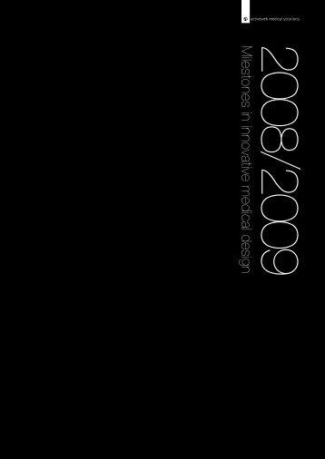 Milestones in innovative medical design 2008/2009 - Activeweb ...