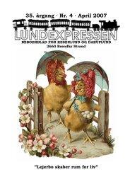 35. årgang · Nr. 4 · April 2007 - lundens.net
