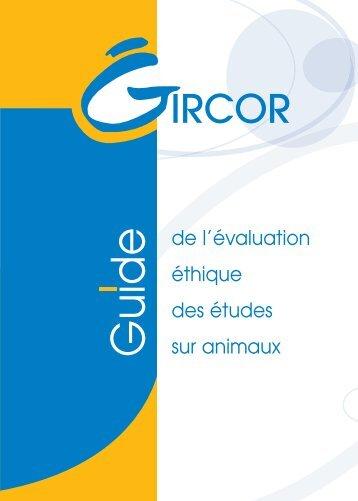 Guide de l'évaluation éthique des études sur animaux - Aaalac