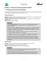 Módulo 2 – Panorama mundial da questão ... - Instituto Embratel