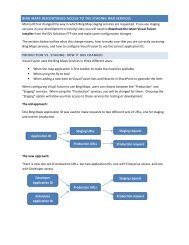 New Bing Maps Web Services Guidance - IDV Solutions Product Help
