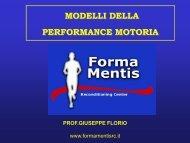 Modelli Performance motoria - Prof. Giuseppe Florio