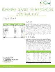Informe Diario de Mercados